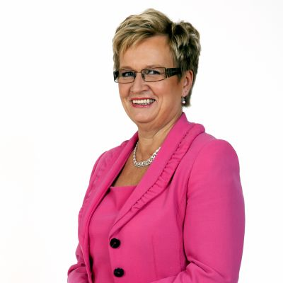 Ulla-Maj Wideroos (SFP) kandiderar i Vasa valkrets.