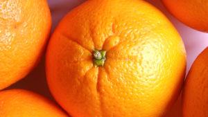 Gula apelsiner.