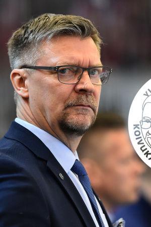 Jukka Jalonen tränar FInlands ishockeyherrar.
