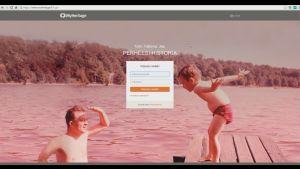 Kuvakaappaus MyHeritage-sivustosta
