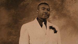 Gospel-legenda Thomas A. Dorsey arkistokuvassa 1935. Kuva dokumentista Say Amen, Somebody!