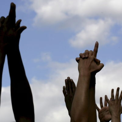 Yoga på den internationella fredsdagen i Nairobi