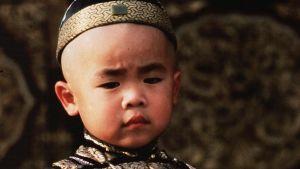 "Richard Wuu hade rollen som en mycket ung Pu Yi i ""Den siste kejsaren""."
