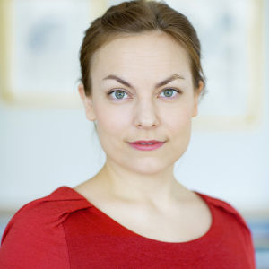 Lotta Nylund, projektledare vid Signe och Ane Gyllenbergs stiftelse.