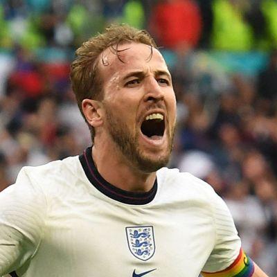 Harry Kane firar mål i EM.