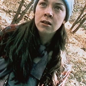 Heather Donahue i filmen Blair Witch project 1998.