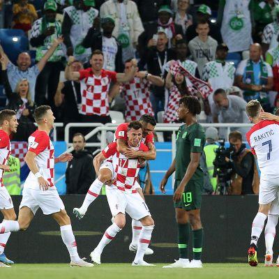 Maalikooste: Kroatia voittoon Nigeriasta