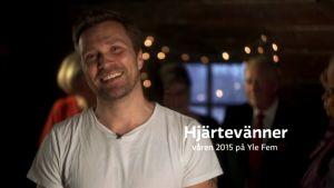 Magnus Silfvenius-Öhman är programledare för Hjärtevänner