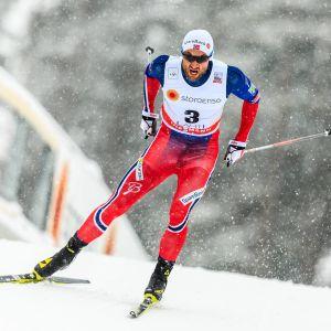 Petter Northug i farten.