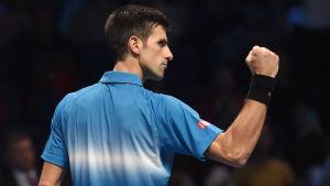 Novak Djokovic är inte lätt att tas med.