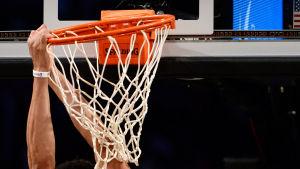 Anthony Davis ledde Pelicans till slutspel i NBA.