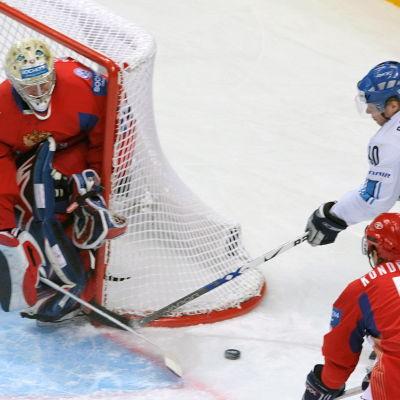 Sean Bergenheim, ishockey-VM 2007.