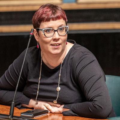 Kansanedustaja Merja Kyllönen, Vasemmistoliitto.