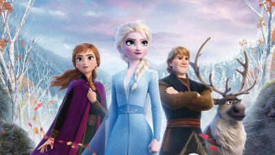 Frozen 2 elokuvajuliste.