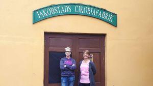 Lisen Sundqvist och Carola Sundqvist.