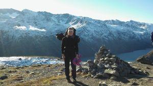 Skidlöperskan Josefin Sandvik studerar i Norge.