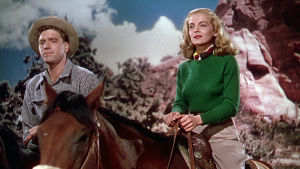Burt Lancaster ja Lizabeth Scott elokuvassa Rikosten erämaa