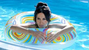Sabrina Ferilli. Kuva Paolo Sorrentinon elokuvasta Suuri kauneus.