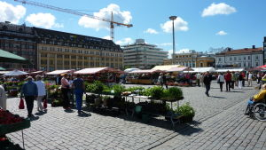 Salutorget i Åbo.