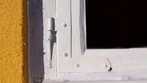 En fönsterkarm.