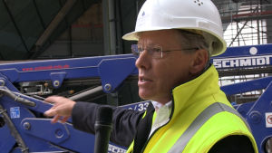 Thomas Rinderspacher är projektchef för bygget.