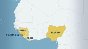 Ebolan sprider sig i västafrika