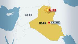 USA attackerar Irak och terroristgruppen Isis i Irak augusti 2014.
