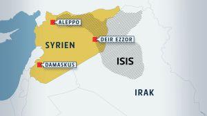 isis syrien iraq karta