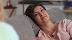 Maria Sundblom-Lindberg, familjeterapeut och programledare för Cirkus familj