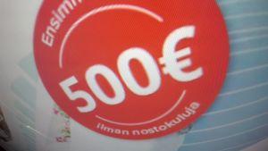 Vain muutama pikalainayritys myöntää  enää alle 2000 euron pikavippejä.