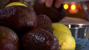 Avokado och citroner