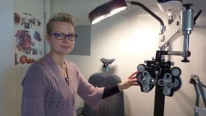 Linn Björkqvist är optometrist