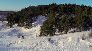vinterlandskap i Borgå