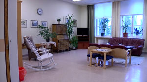 Vardagsrum i Ekåsen
