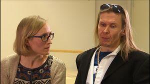 Marjut Tervola ja Eikka Lehtosaari
