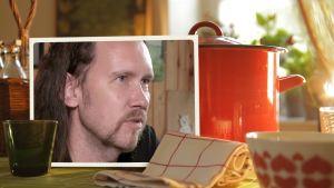 Puoli seitsemän, Ruokamuisto- otsikkokuva, Juha-Pekka Koskinen