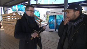 Klaus Härö Stradan haastattelussa.