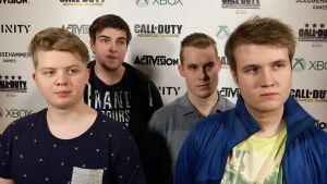 Team FINLAND (Xbox 1 / COD) - Gefkid, Eyedi, Juunaz, beakd