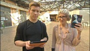 Antti Holma ja Marjut Tervola