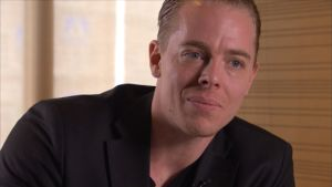 Författaren och konsulten Linus Jonkman