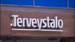 Suomen suurimman työterveyspalvelujen tuottajan Terveystalon logo.