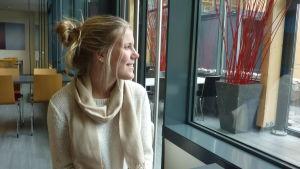 Jenny Sandberg studerar både vid Axxell och Ekenäs gymnasium.