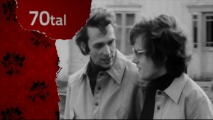 norskt bögpar i Yle program om homosexualitet 1975
