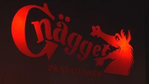 Diskoteket Gnäggets logo.