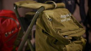 Ryggsäck med pall