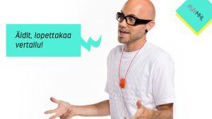 """Marja Hintikka Live: Heikki Soini - """"Äidit, lopettakaa vertailu!"""""""