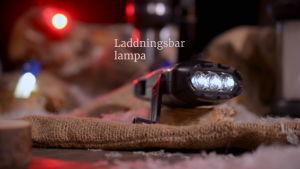 Laddningsbar lampa med generator