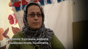 Latifa Ali suostui lähtemään Syyriasta vasta kun hänen kotiinsa tehtiin hyökkäys kemiallisilla aseilla