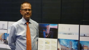 Mikael Snellman hoppas att Vasa stad vill komma med i projektet