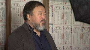 Ai Weiwei Helsingissä.
